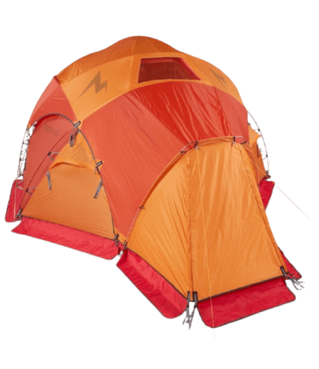 Marmot Marmot, Lair 8-Person Tent, Terra Cotta/Pale Pumpkin Orange