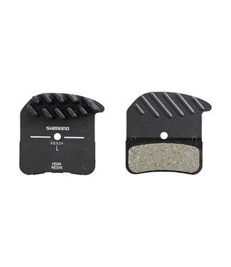 Shimano Shimano, H03A, Disc Brake Pads, Shape: Shimano D-Type/H-Type, Resin, Pair, Black