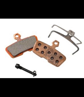 Avid, Code 2011+ Disc brake pads, Sintered metal, Steel back plate, pair