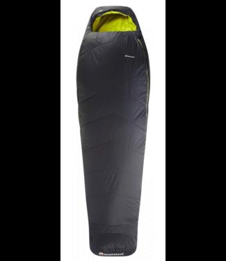 Montane Montane, Prism 0 Sleeping Bag - Black, Left Zip, Reg, Black