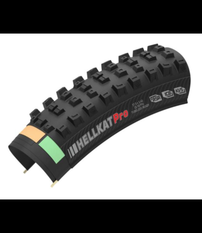 Kenda Hellkat RSR AGC 27.5x2.4 TLR Tire, Black