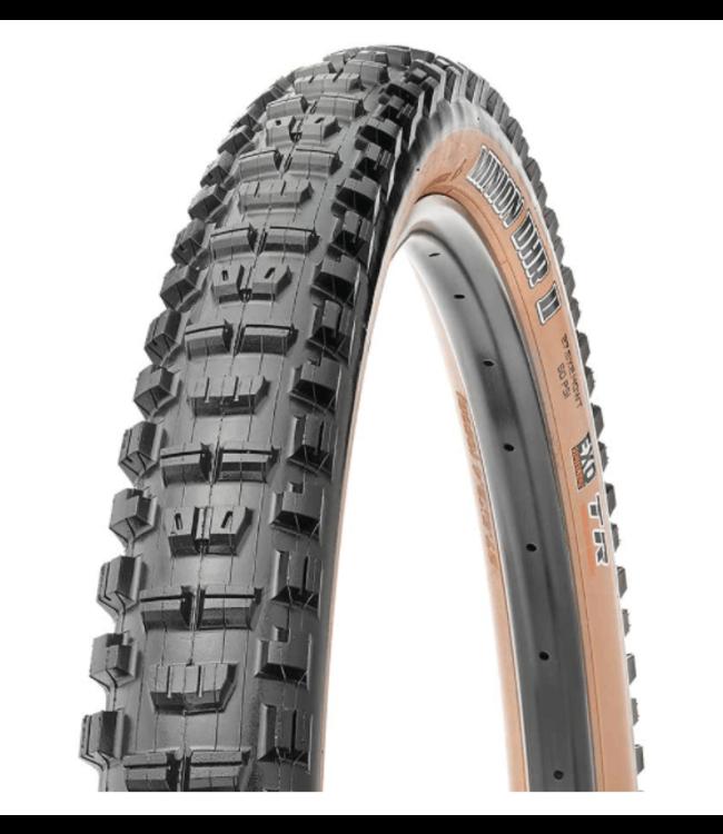 Maxxis Maxxis, Minion DHR2, Tire, 29''x2.40, Folding, Tubeless Ready, Dual, EXO, Wide Trail, 60TPI, Tanwall