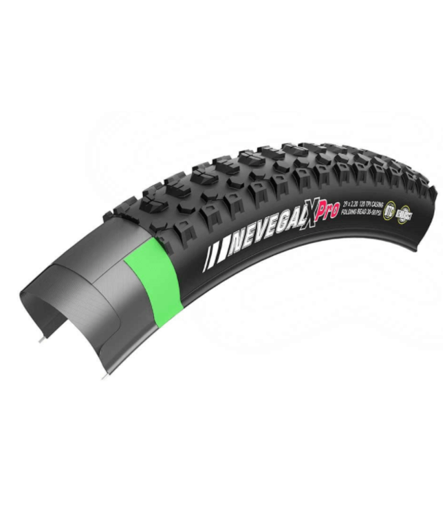 Kenda, Nevegal X Pro, Tire, 27.5''x2.35, Wire, Clincher, DTC, 60TPI, Black