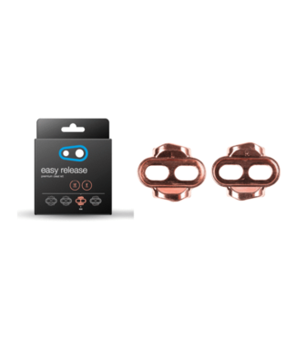 Crank Brothers Crank Brothers, Easy Release Cleat 6DEG, Brown