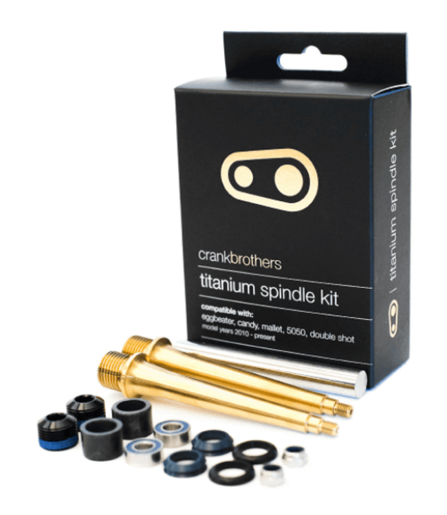 Crank Brothers Crank Brothers, Titanium Pedal Spindle Kit