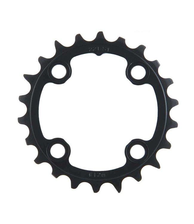 SRAM SRAM, 22T, 10 sp, BCD 64mm, 4-Bolt, Inner Chainring, For MTB triple, Aluminum, Black, 11.6215.188.370