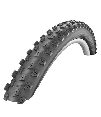 Schwalbe Schwalbe, Fat Albert Front, Tire, 29''x2.35, Folding, Tubeless Ready, TrailStar, SnakeSkin, 67TPI, Black