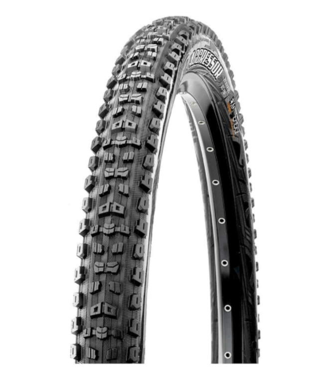Maxxis Maxxis, Aggressor, Tire, 29''x2.50, Folding, Tubeless Ready, Dual, Double Down, 120x2TPI, Black