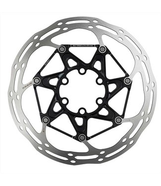 SRAM SRAM, Centerline 2 Piece Rounded, Disc brake rotor, ISO 6B, 180mm, Silver/Black