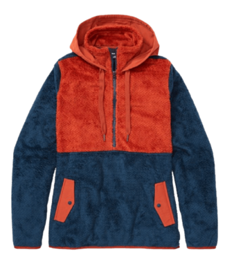Marmot Marmot, Ws Homestead Pullover, Indigo/Picante, M