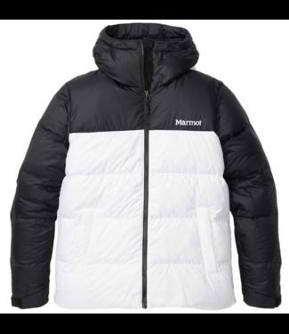 Marmot Marmot, Ws Guides Down Hoody, White/Black, M
