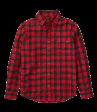 Marmot Marmot, Bodega Lightweight Flannel LS, Dark Fire Red, M