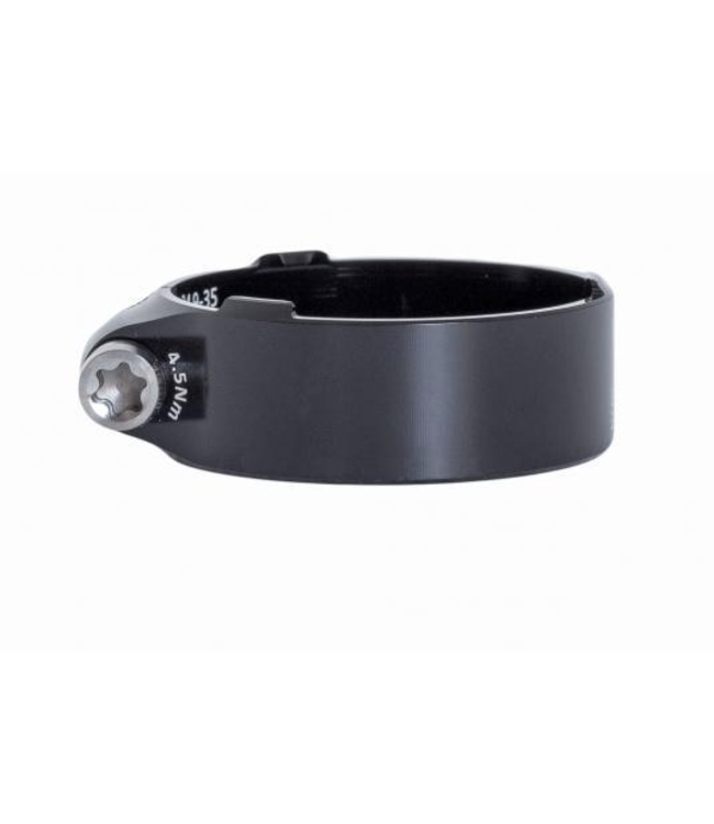 BikeYoke BikeYoke, Squeezy Seat Clamp, Fits 34.9mm (35mm) seat-tube, Black