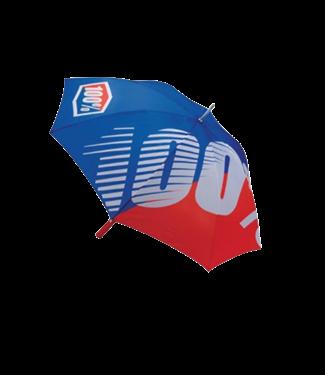 100% 100%, Premium Umbrella, Blue/Red