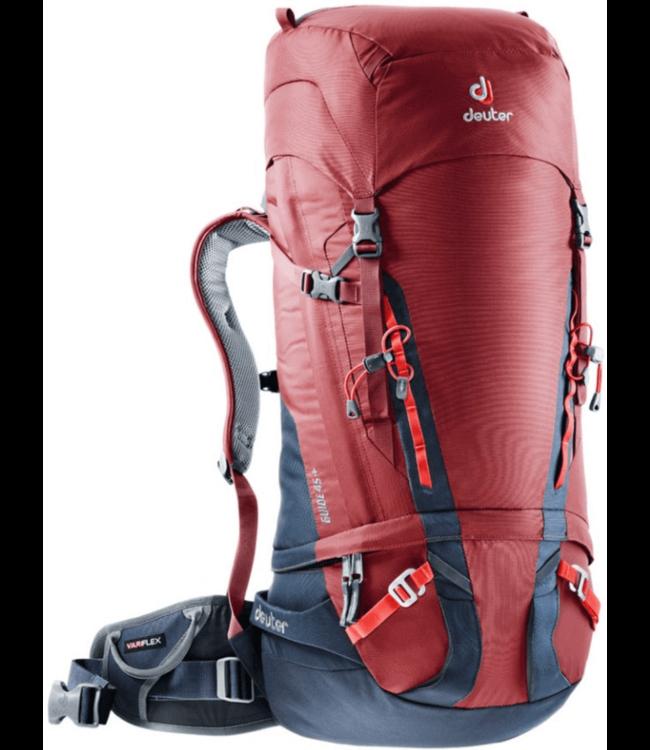 Deuter Deuter, Guide 45 +, Cranberry Red/Navy