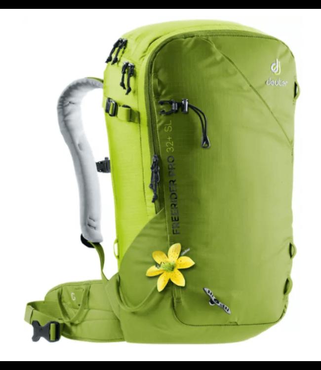 Deuter Deuter, Freerider Pro 32+ SL, Moss Green/Citrus Green