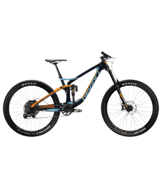 Devinci Devinci, Spartan GX Carbon 27, GUIDE RE Brake upgrade,Orange/Navy, X-Large, 2019
