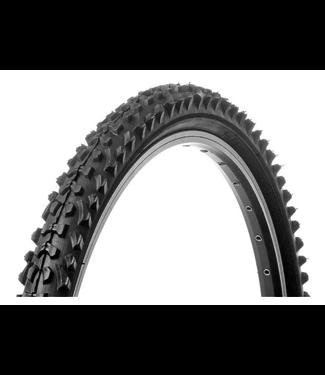 Vee Rubber, Smoke, Tire, 26''x2.00, Wire, Clincher, Black