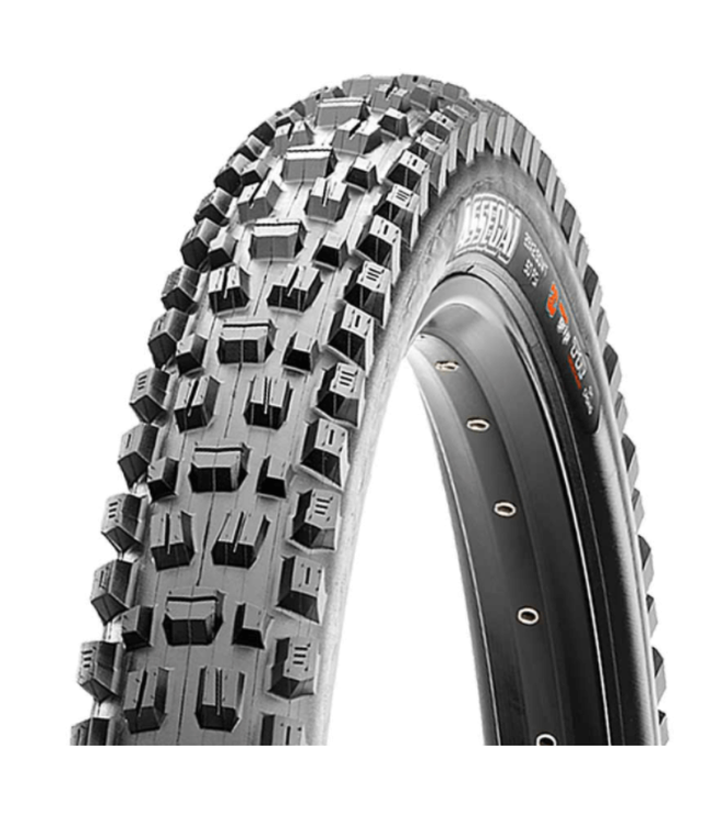 Maxxis Maxxis, Assegai, Tire, 27.5''x2.50, Folding, Tubeless Ready, 3C Maxx Grip, EXO+, Wide Trail, 120TPI, Black