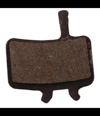 Avid, Juicy & BB7, Disc brake pads, Organic (Quiet), Steel back plate, pair