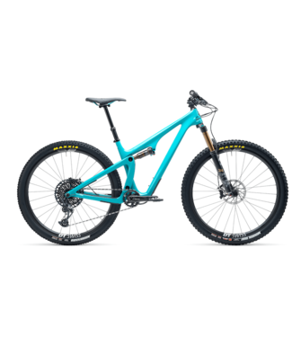 Yeti Yeti, SB115 T-Series T2 2021 with EXC Carbon Wheels, Turquoise, L