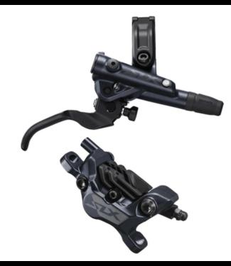 Shimano Shimano, SLX BL-M7100/BR-M7120, MTB Hydraulic Disc Brake,  Rear, Post mount, Disc: Not included, 44g, Black, Set