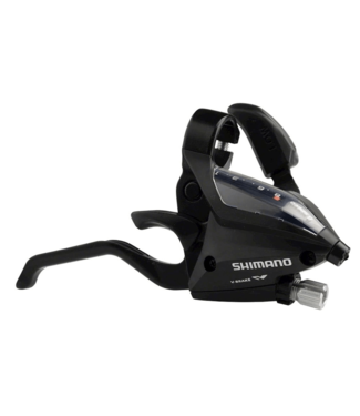 Shimano Shimano, Shift/Brake Lever, ST-EF500-8R, Right 8-Speed EZ-Fire Plus, 2F-Alloy, for V-Brake, Black