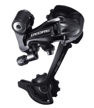Shimano Shimano, Rear Derailleur, RD-M591-L, Deore, SGS 9-Speed Top-Normal Direct Attachment, Black
