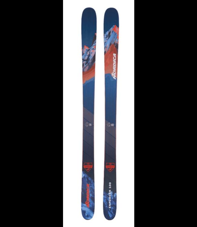 Nordica Nordica, Enforcer 100 Flat 2022, Blue/Red