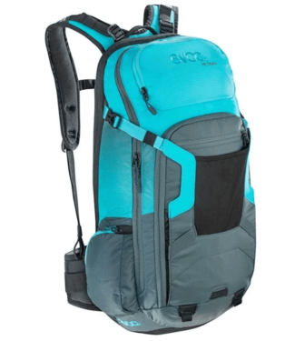 EVOC EVOC, FR Trail Protector, 20L, Backpack, Slate Gray/Blue, ML