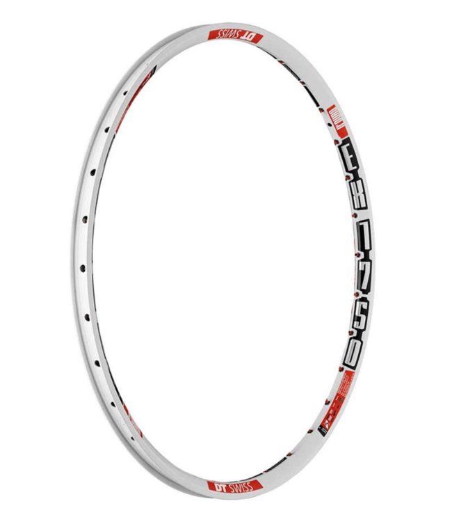 DT Swiss, EX 1750, Rim, 26'', ISO 559, 32H, Double wall, White