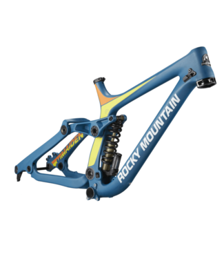Rocky Mountain Bicycles Rocky Mountain, Maiden World Cup Frame 2017, Small, Blue, carbon
