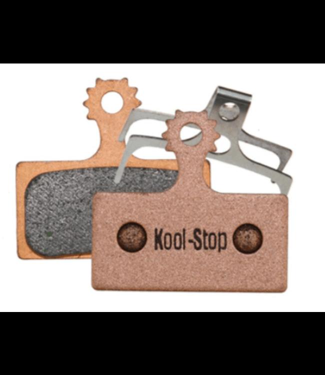 Kool-Stop, Shimano, Sintered M9000/M8000 Disc Brake Pads Copper Plate