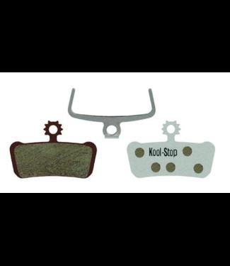 Kool-Stop, XO/Elixir/Guide Disc Brake Pads, Aluminum Plate