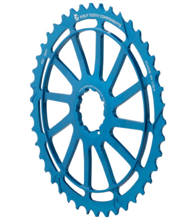 Wolf Tooth Components Wolf Tooth, GC, Cog, Shimano, 42T, Blue