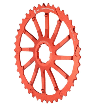 Wolf Tooth Components Wolf Tooth, GC, Cog, Shimano, 40T, Red