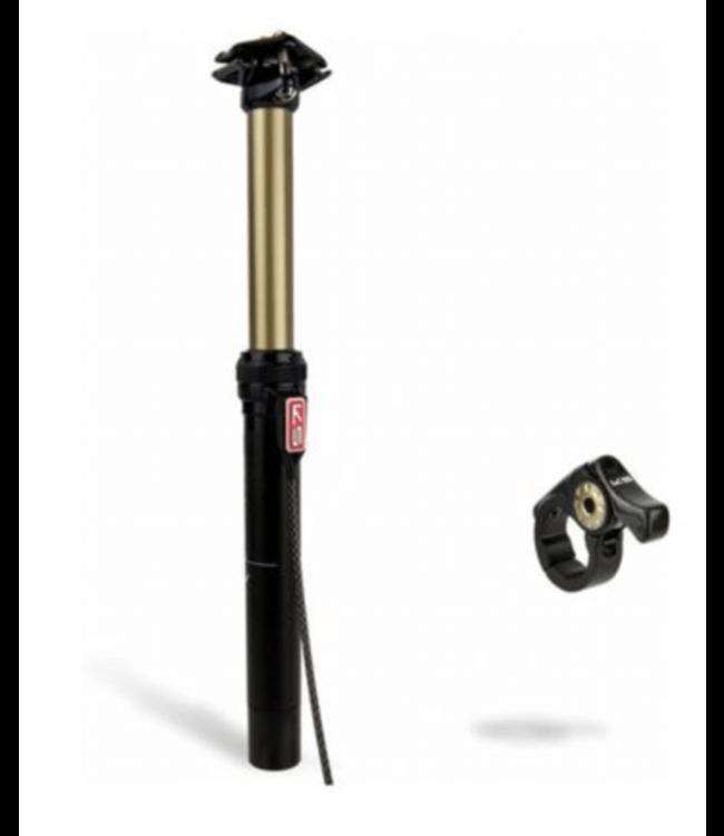 Kind Shock, LEV External Dropper Post, 31.6 X 335/100mm