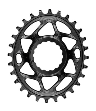 Absolute Black Absolute Black, OVAL, RaceFace, Boost Chainring,