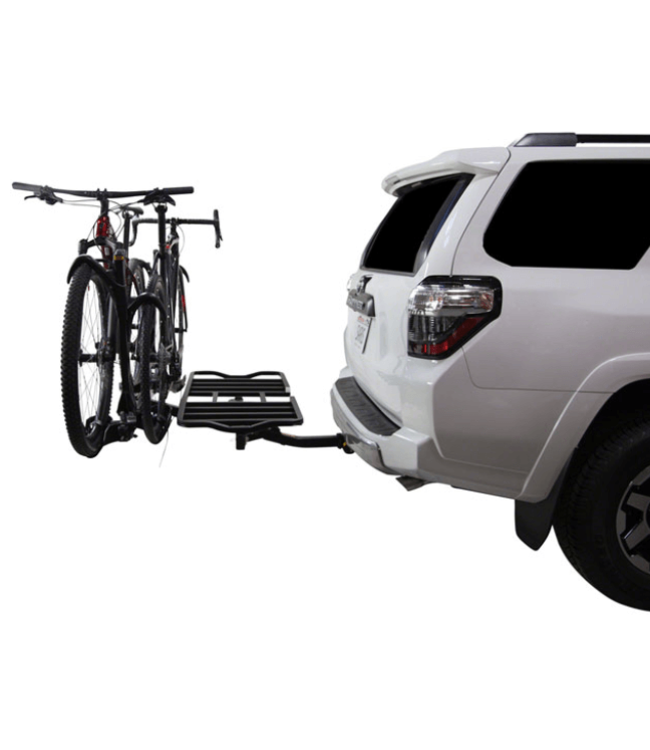 "Saris, SuperClamp 2-Bike Cargo Rack, 2"" Receiver, Black"