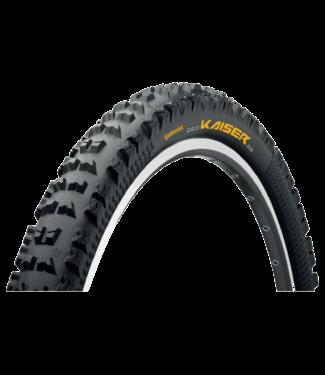 Continental, Der Kaiser Tire, 26 x 2.5, DH/All Mountain Wire Bead, BW Apex Dual Ply + Black Chili