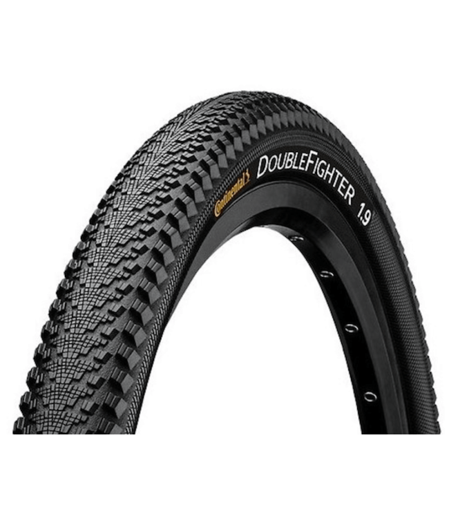 Continental, Double Fighter III Tire, 700c x 37 BW, XC/Enduro Wire Bead