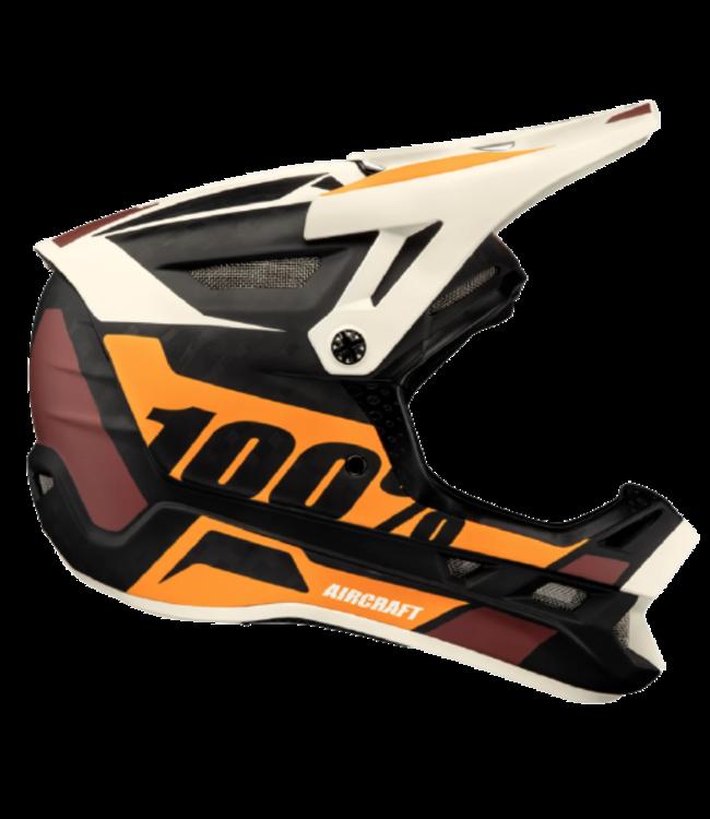 100% 100%, Aircraft Carbon MIPS Helmet, Revburst Large