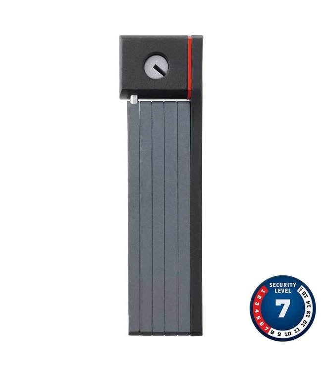 Abus Abus, uGrip Bordo 5700, Folding lock with key, 80cm (2.6'), Black