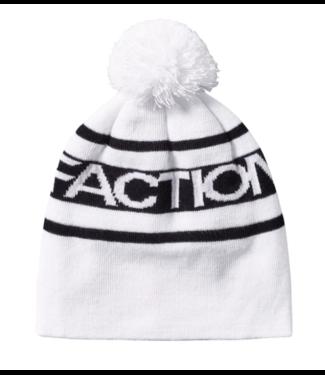 Faction Faction, Pom Pom Beanie, White/Black, One Size