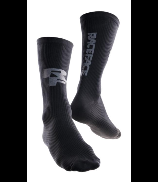 RaceFace RaceFace, Indy Compression Socks, Black