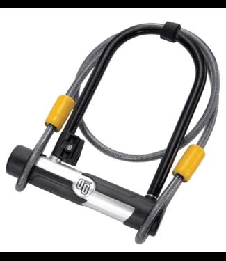 OnGuard, OG 5815, U-Lock, 106mm x 200mm (4.2'' x 7.9'') / Cable 10mm x 120cm (10mm x 4')