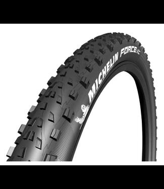 Michelin, Force XC Comp, Tire, 27.5''x2.25, Folding, Tubeless Ready, GUM-X, Black