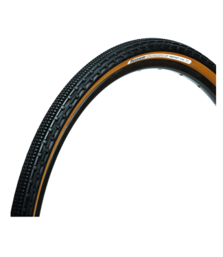 Panaracer, Gravel King Smooth Tire, 700cx43K, Black/Brown