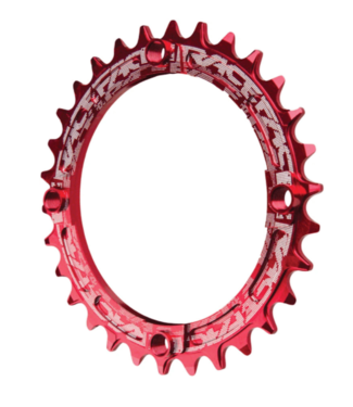 RaceFace RaceFace, 104 BCD Narrow Wide Chainring, 10-12 Speed