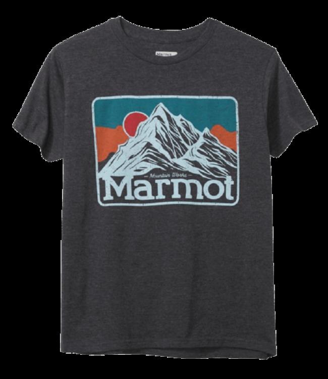 Marmot Marmot, Mountain Peaks Tee SS